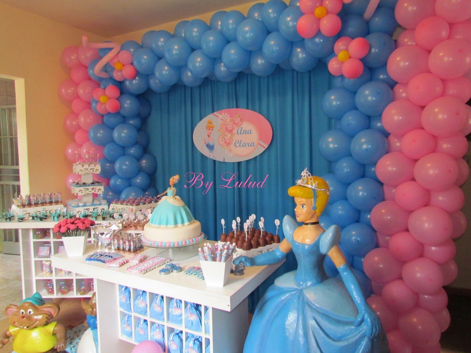 Festa Personalizada Cinderela Festa De Aniversario Da Cinderela