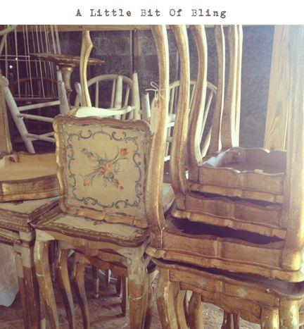 Italian Florentine furniture