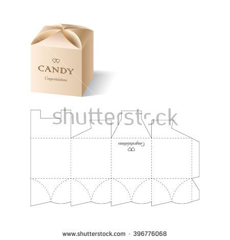 Retail box with blueprint template cutii pinterest retail box retail box with blueprint template buy this stock vector on shutterstock find other images malvernweather Choice Image