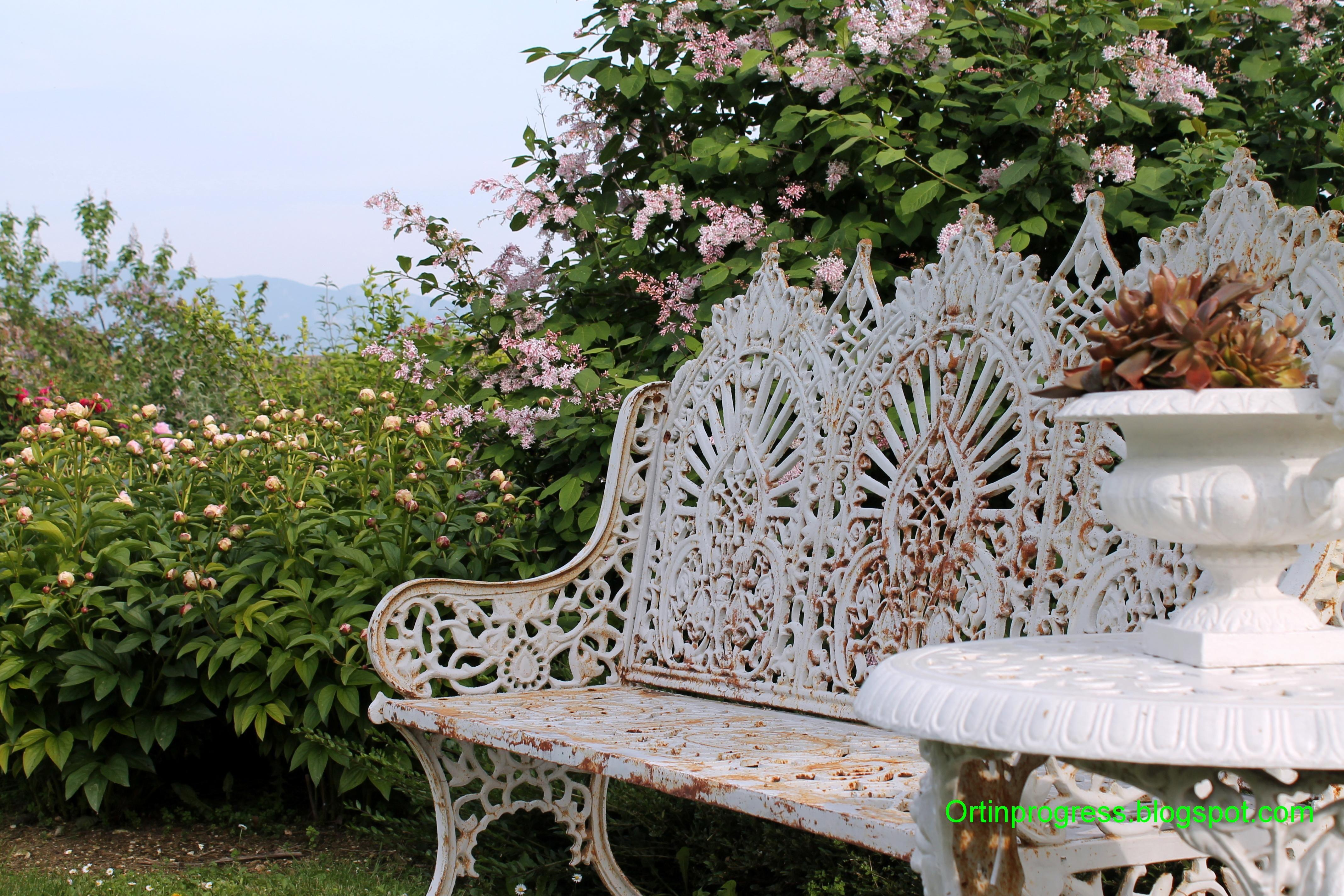 Orti In Progress Panchine Giardini Di Casa Giardino