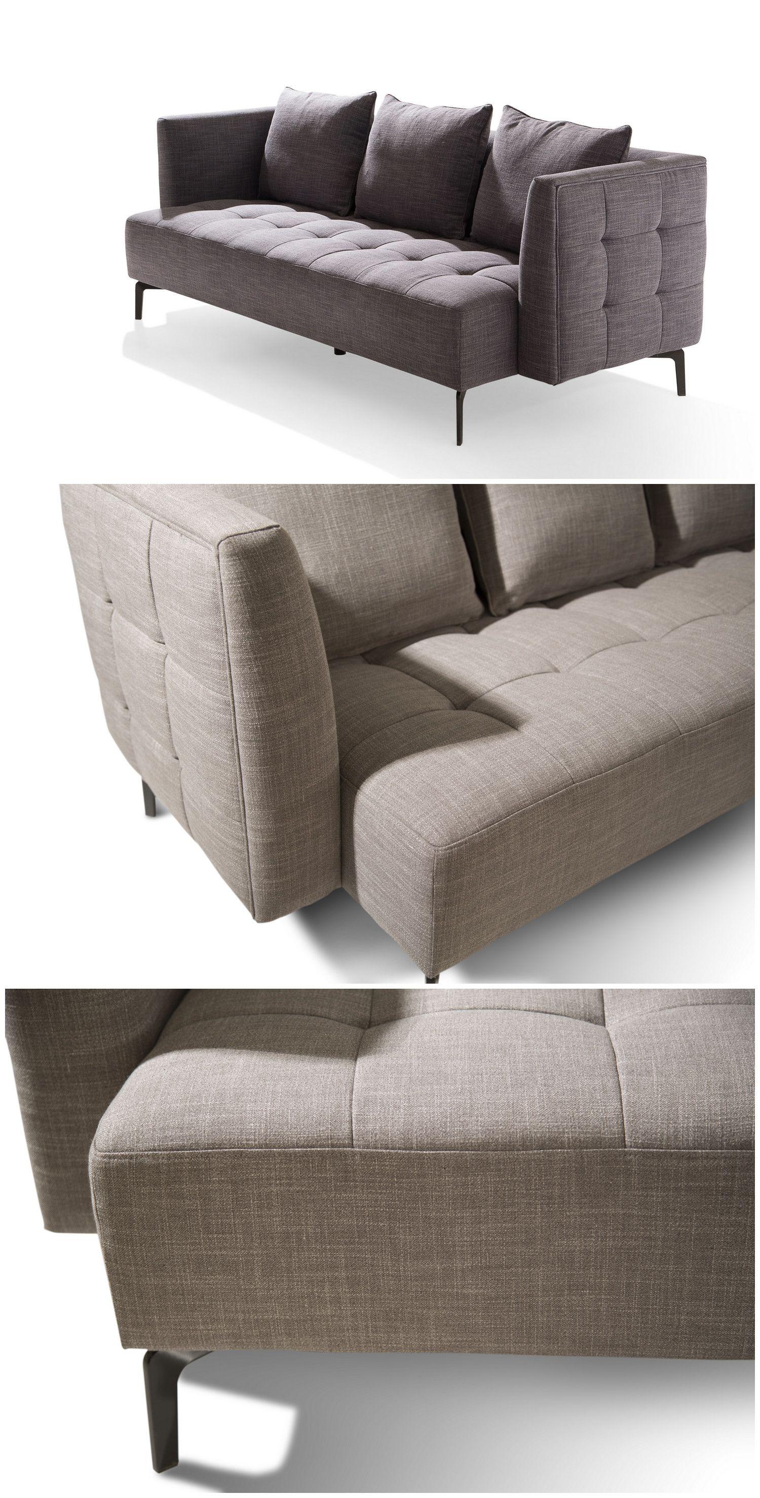 Sofa China Supplier Metal Legs Tufted Box Simple Sofa Set Modern Sofa Living Room Simple Sofa Modern Sofa Set