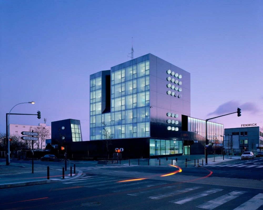 Commissariat Of Police In France X Tu Architecture Exterior Hotel Building Police