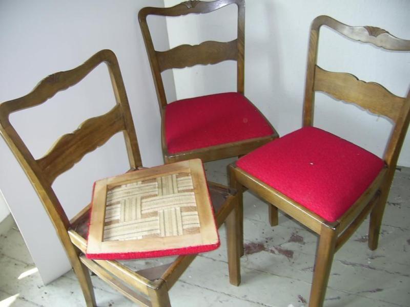 Biete Sehr Gut Erhaltene Stühle Siehe Fotos Grosse