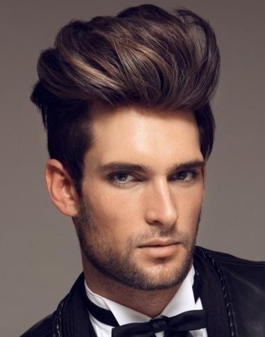 Mens Hair Modern Pompadour Hairstyles Quiff Hairstyles Hair