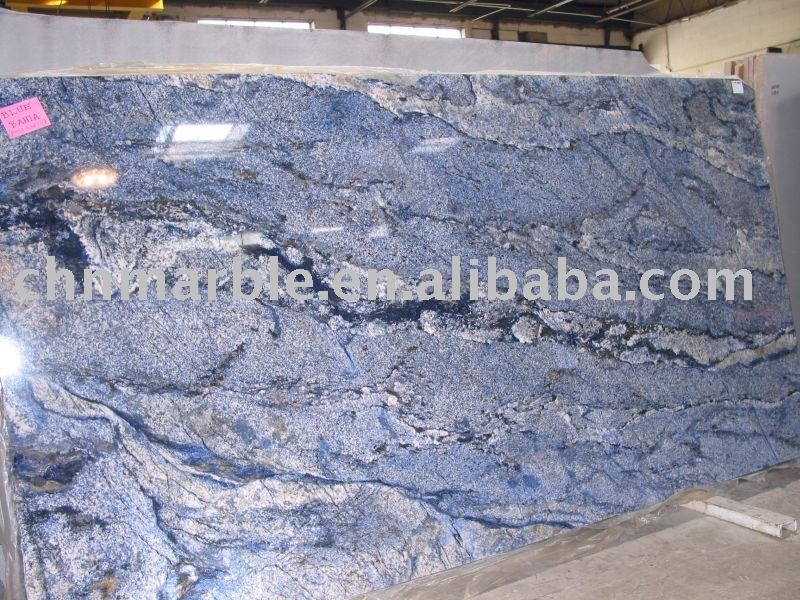 Blue Bahia Granite Stone Slab With