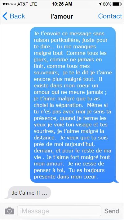 20 Sms Damour Tu Me Manques Sms Amour Citation Amour