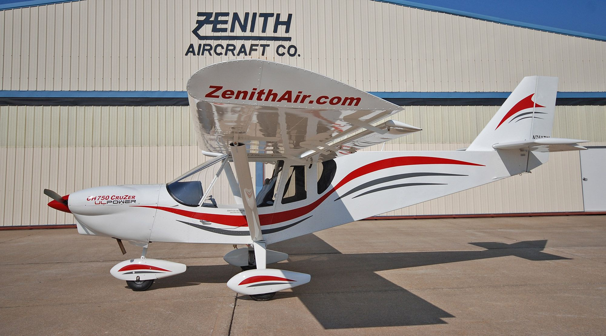 750 Cruzer Light Sport Aircraft Zenith Aircraft