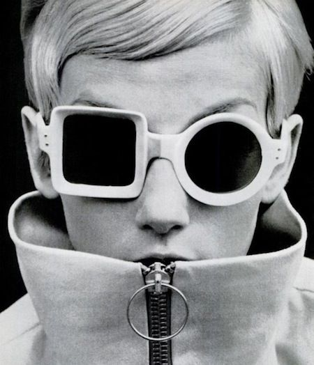 18c8b3dcb3 Ulla Bomser wearing mod sunglasses