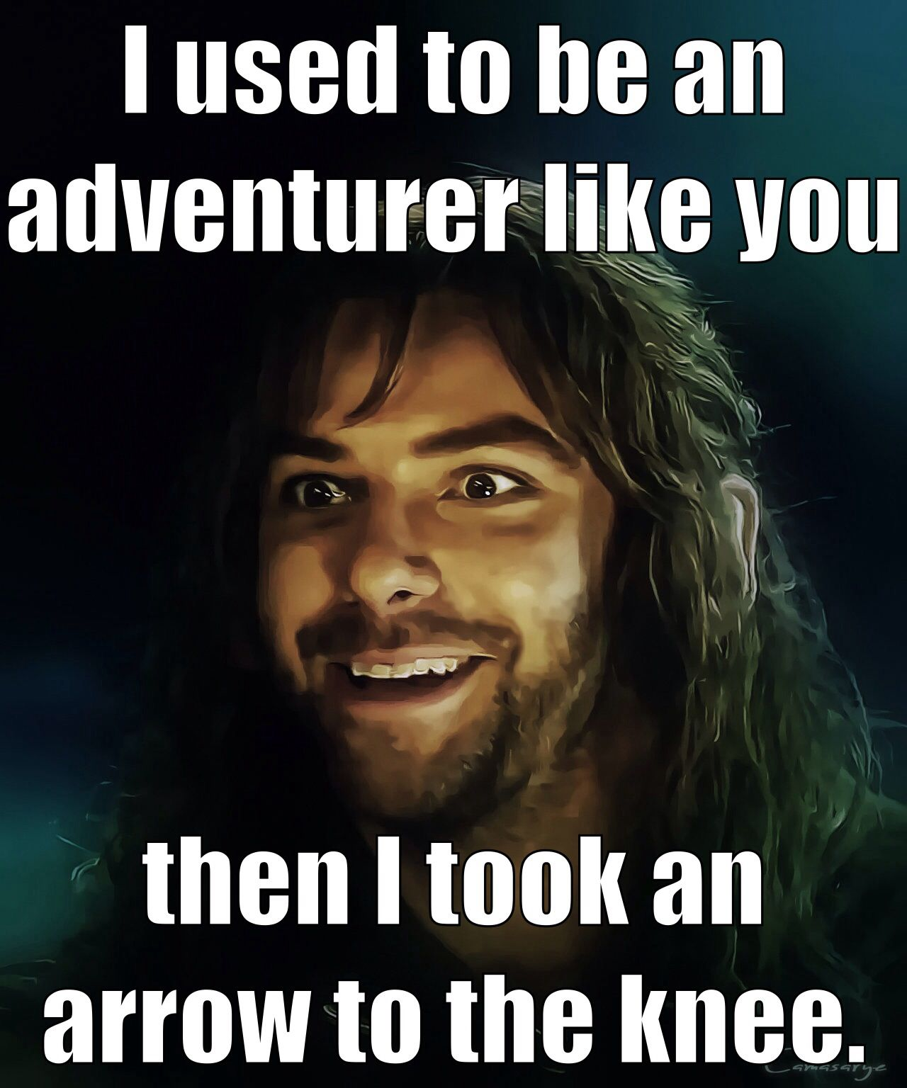 Couldn't Wait To Come Home And Make This! #thehobbit #kili