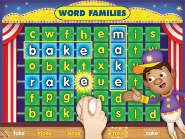 Word Families Carnival Interactive Game At Lakeshore