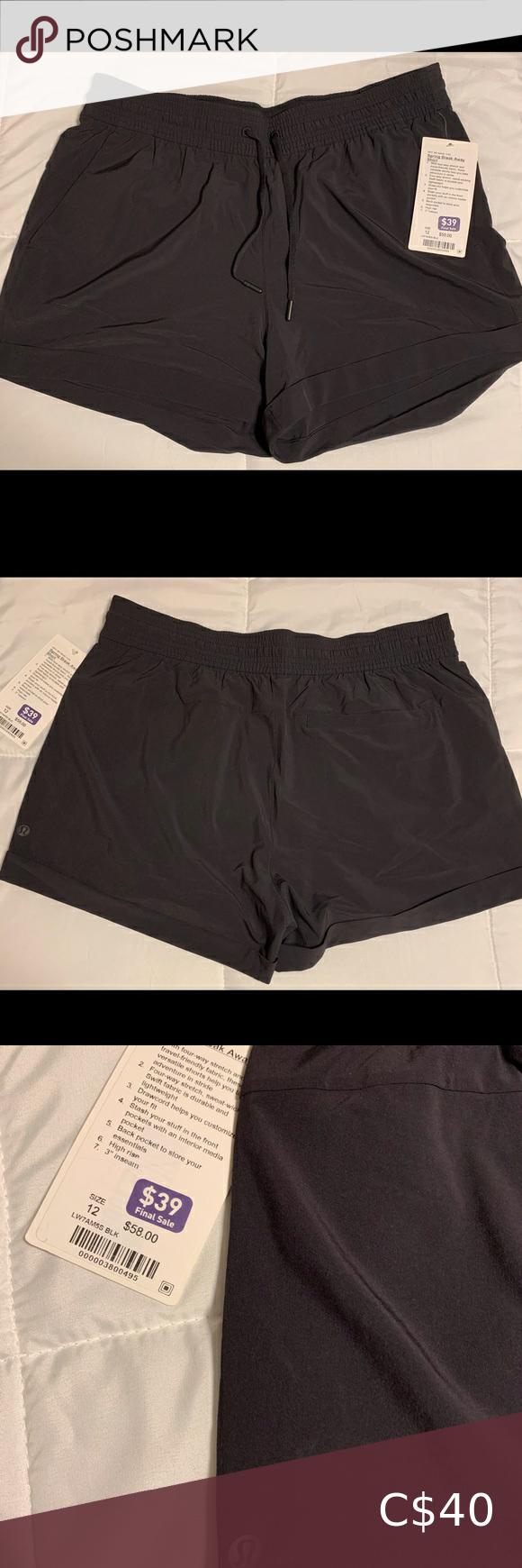Lulu Lemon Spring Break Away shorts