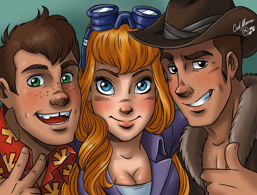 81f717ed Chip n Dale humanization by CatMoore.deviantart.com on @DeviantArt - With  Gadget