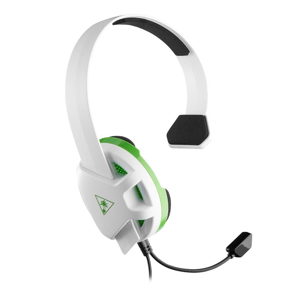 Turtle Beach Recon Chat Gaming Headset For Xbox One Series X White Green Turtle Beach Gaming Headset Headset