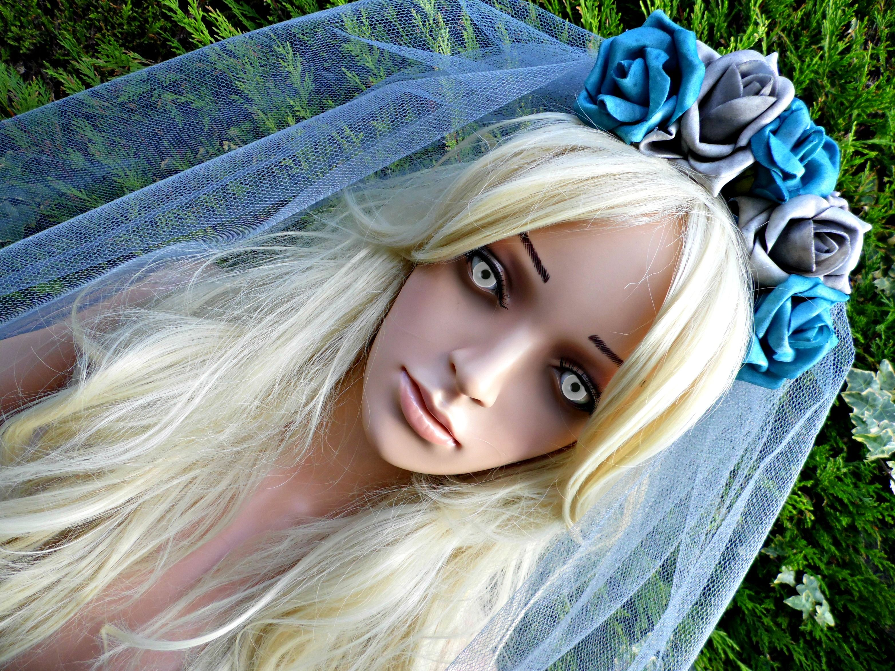 Corpse bride inspired halloween veil design your own at