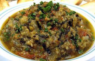 Algerian aubergine salad bait en jal algerian eggplant salad food forumfinder Gallery