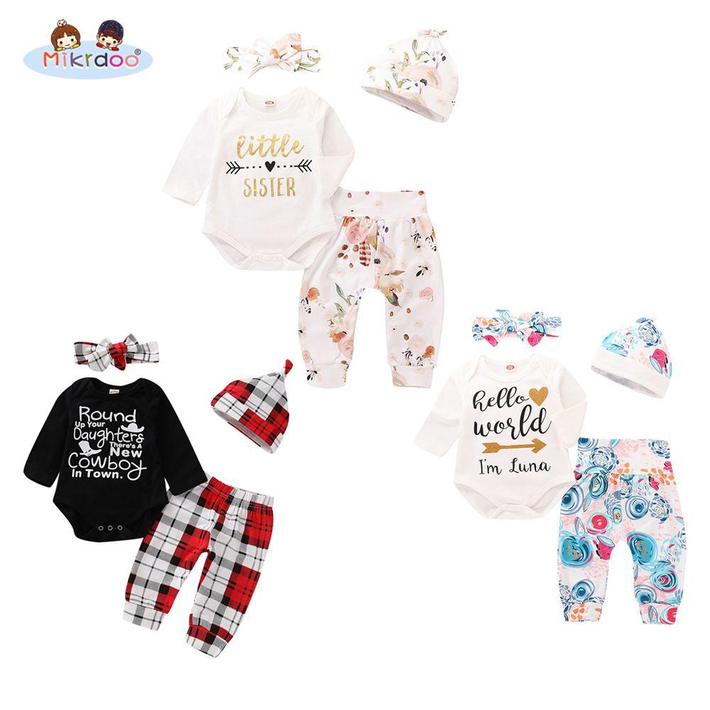 d408af763 Toddler Newborn Baby Boy Girl Autumn Style Clothes Set Letter Print ...