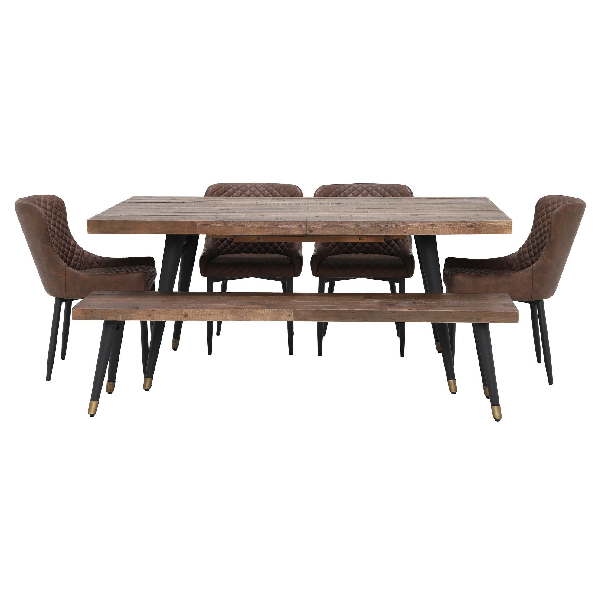 42c279325b54 Modi Extending Dining Table, Bench and 4 Rivington Chairs | Dining Sets | Dining  Room
