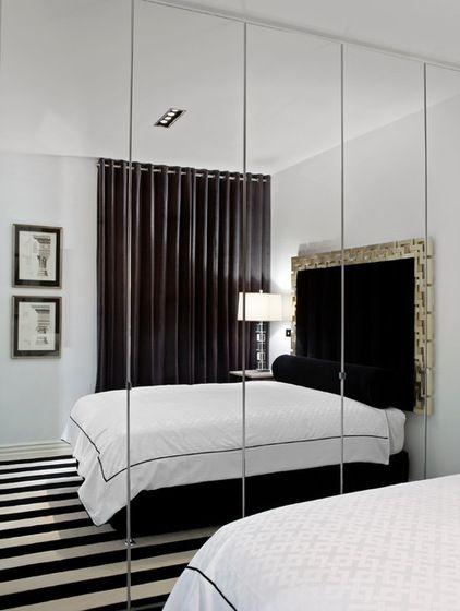 Contemporary Bedroom By Jado Decor Pty Ltd Small Bedroom Remodel Mirror Wall Bedroom Remodel Bedroom