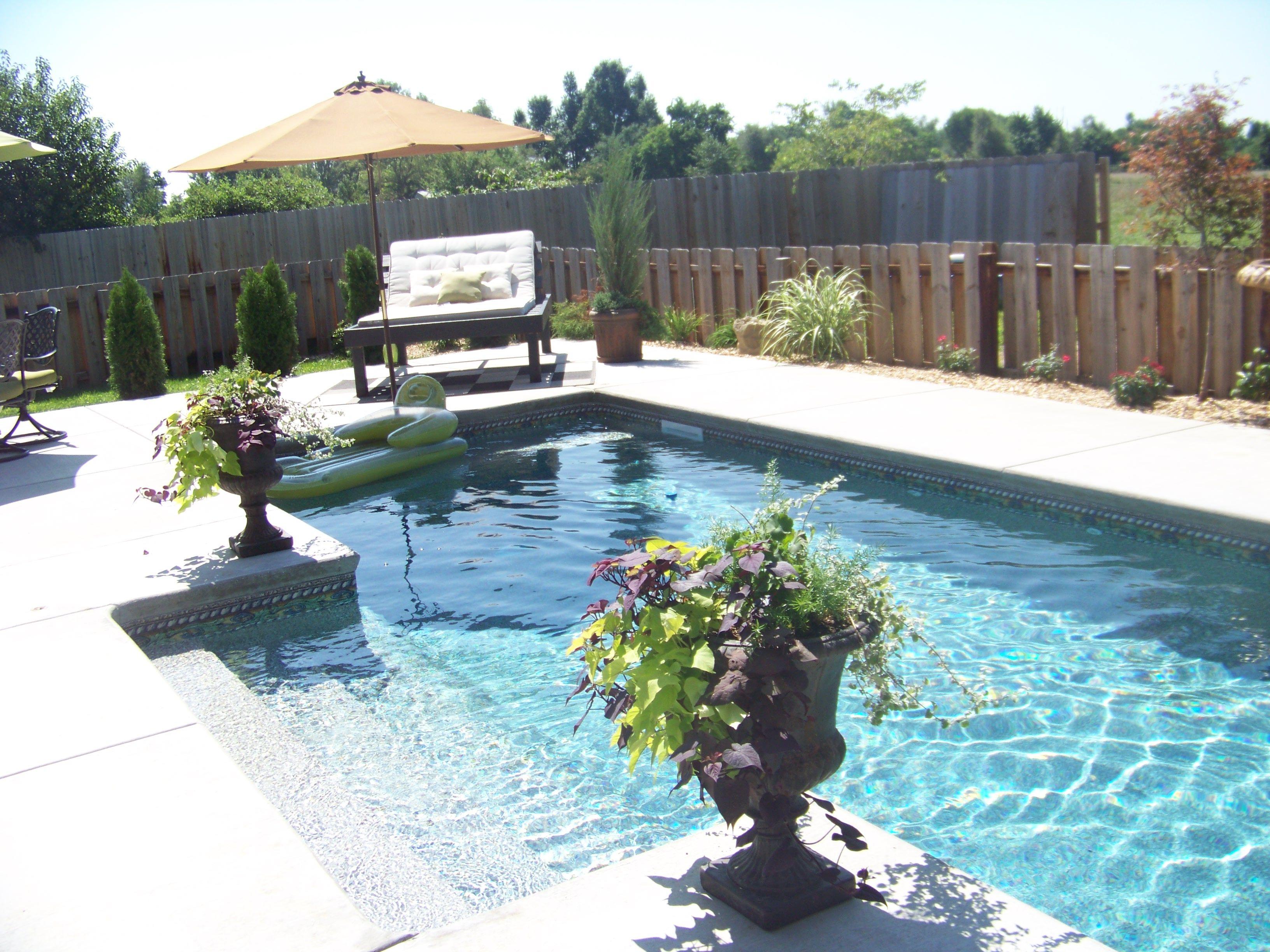 Rectangular Gunite Pool Fishel Pools Springfield Mo 1 800 994 2090 Fishel