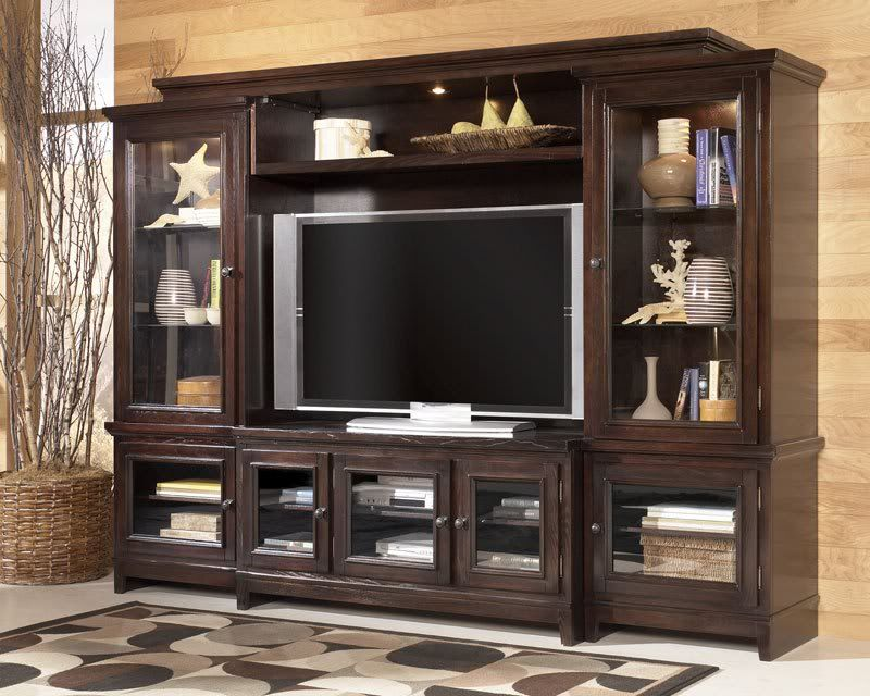 Flat screen tv entertainment centers listing includes tv - Best size flat screen tv for living room ...