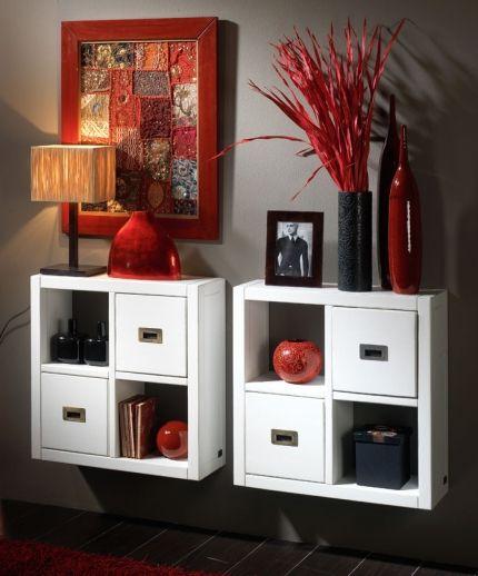Recibidor colgante banak recibidores pinterest - Muebles pequenos ikea ...