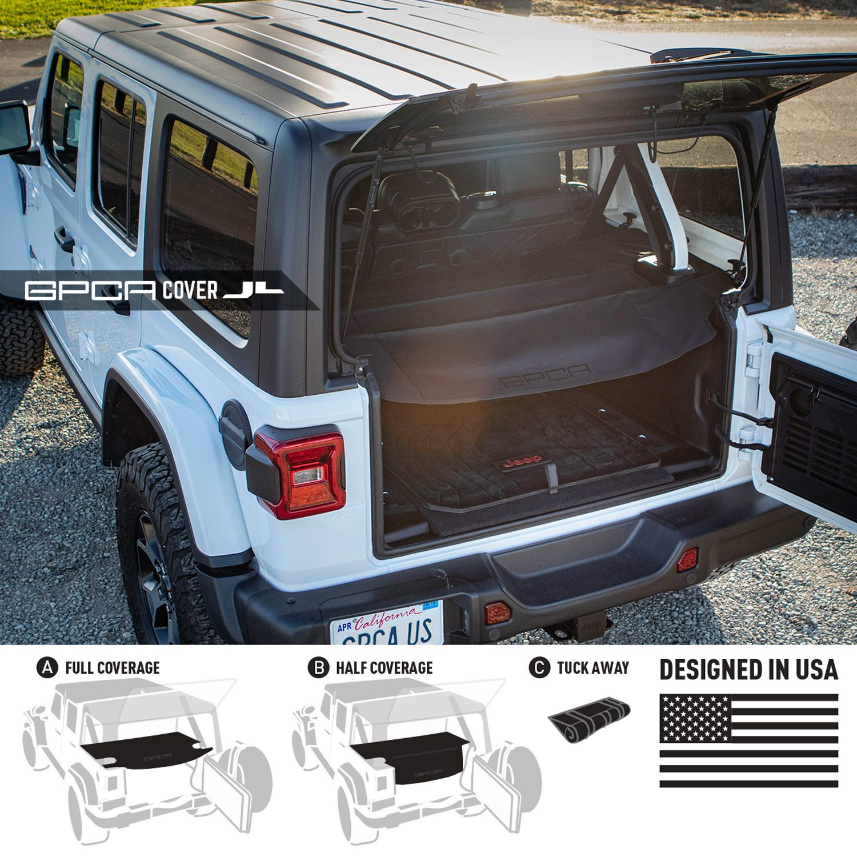 Gpca Cargo Cover Jeep Wrangler Wrangler Jl