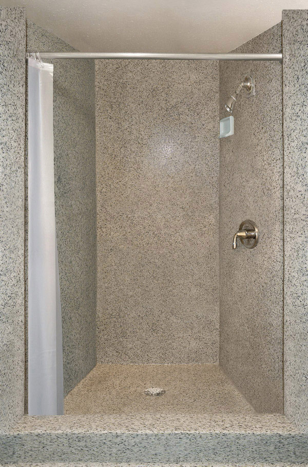 Antimicrobial Shower Floors Walls For Public Wet Spaces In 2020 Shower Floor Epoxy Floor Bathroom Shower Walls