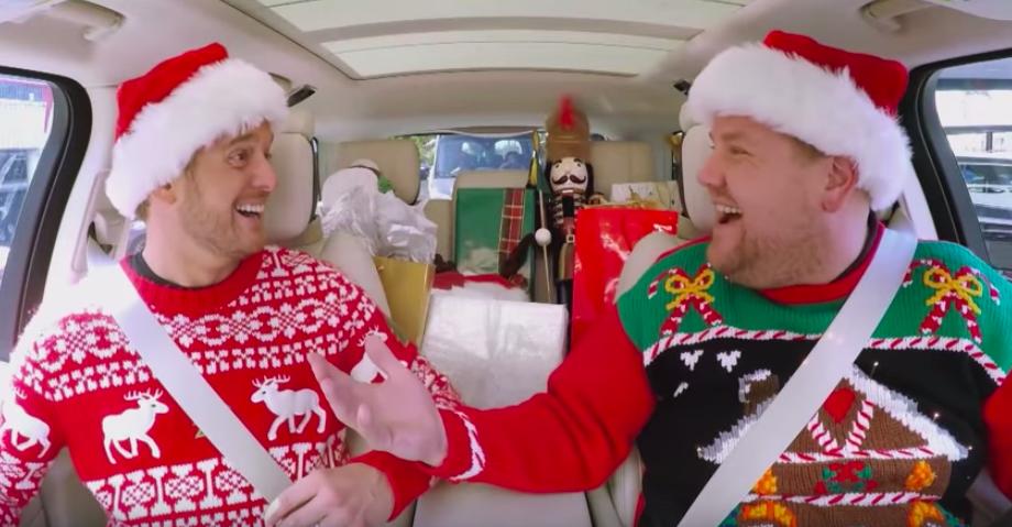 Pin By Jamie Jones Ballard On Holiday Celebrate Christmas Carpool Karaoke Carpool Karaoke Karaoke