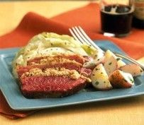 Roasted Corned Beef and Cabbage | Recipes by Amy Tobin