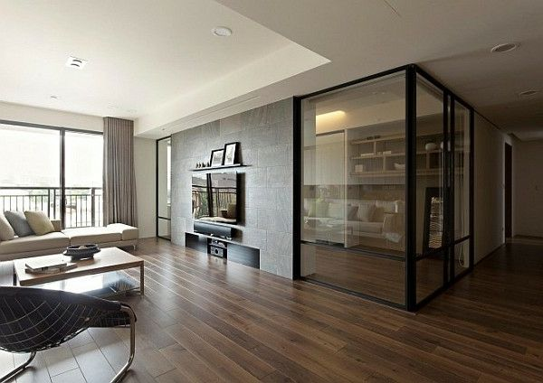 la cloison vitr e int rieure pour un espace original habitat pinterest. Black Bedroom Furniture Sets. Home Design Ideas