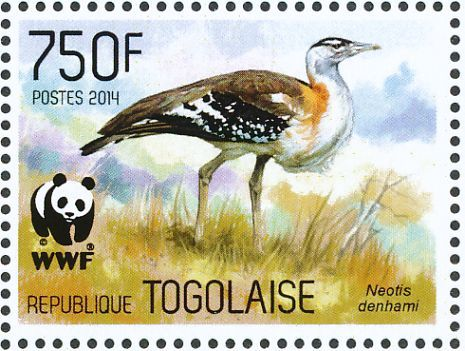 Denham's Bustard stamps - mainly images - gallery format