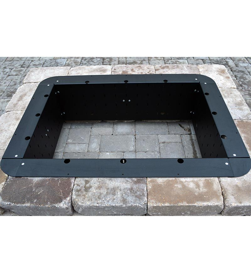 American Made 24 26quot Square Fire Pit Insert Outdoor Fire Pit Square Fire Pit Fire Pit Insert