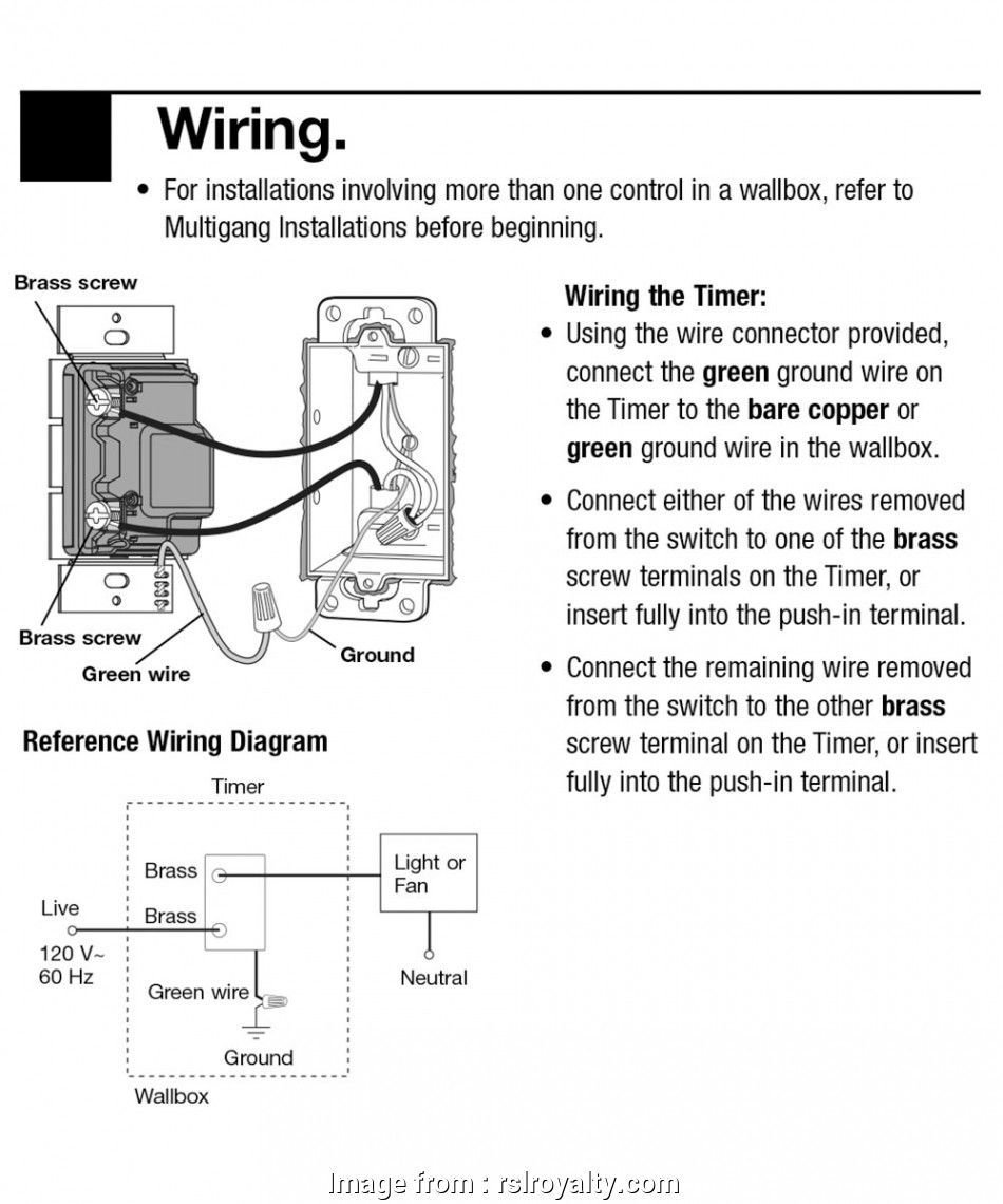 Four Way Dimmer Switch Wiring Diagram (With images