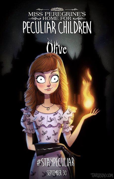 Olive Emma El Hogar De Miss Peregrine Para Ninos Peculiares