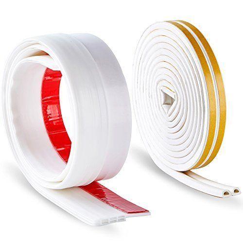 Self Adhesive Rubber Weatherstrip Seal Windows Door Sweep Bottom Draft Kit  Block | Door Sweep And Doors