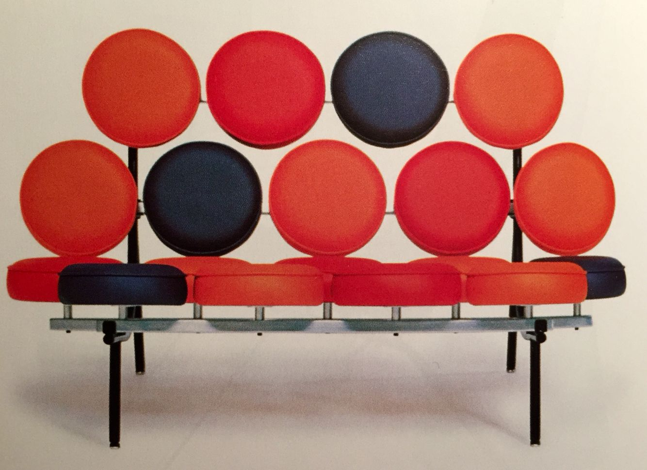 Marshmallow Sofa By Irving Harper (1956) Design