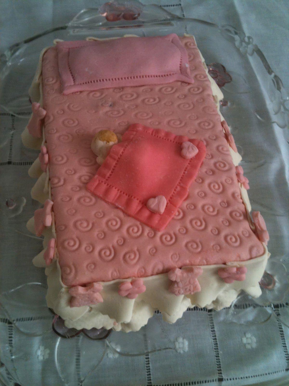 Pasteles Fondant | Pastel Con Cubierta De Fondant Para Baby Shower