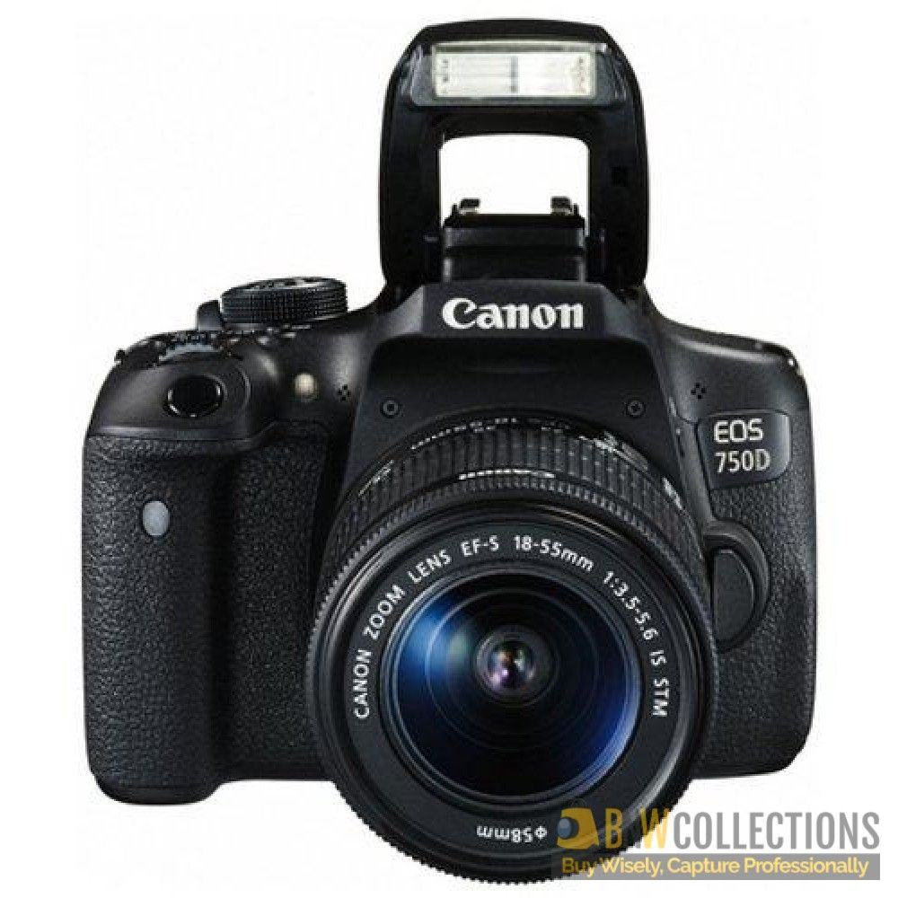 Canon Eos750d Dslr Camera With 18 55mm Lens Price In Pakistan Canon Eos Kamera Kamera Canon