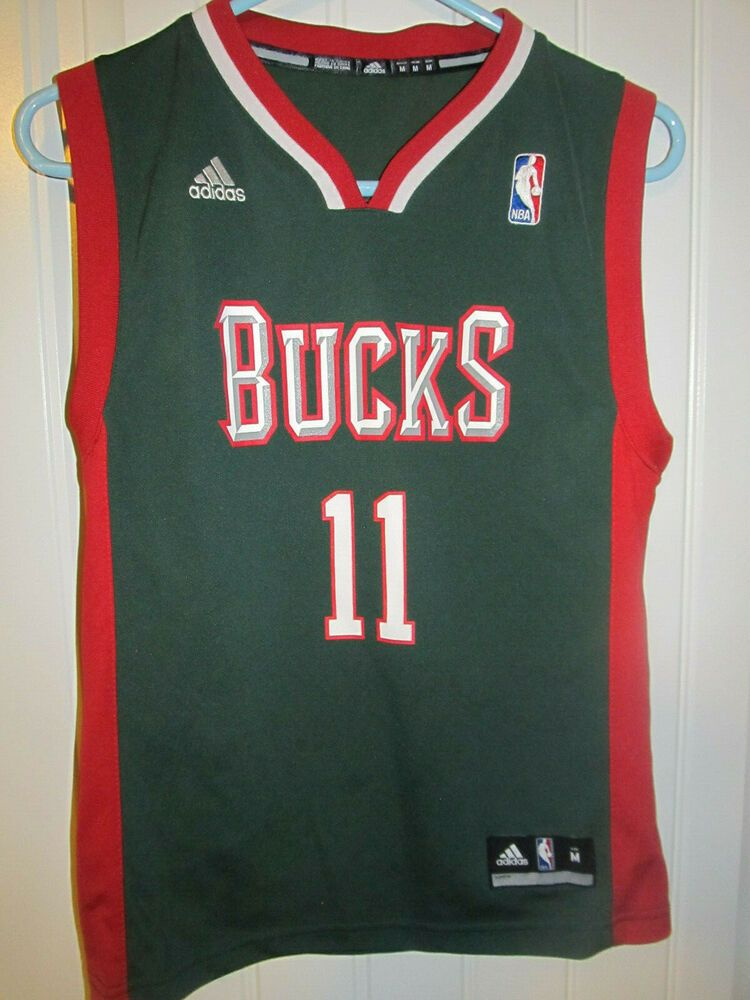 outlet on sale clearance prices classic style Monta Ellis - Milwaukee Bucks jersey - Adidas youth medium ...