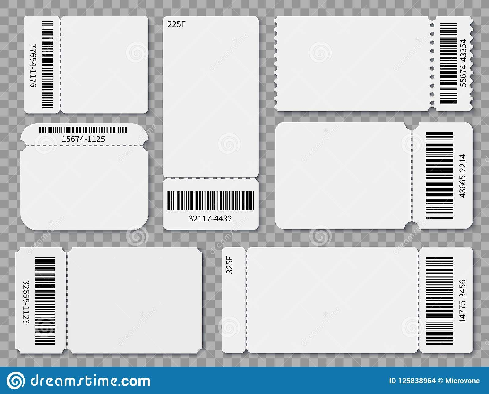 Ticket Templates Blank Admit One Festival Concert Theater Inside Blank Admission Ticket Design Template Raffle Ticket Template Free Ticket Template Printable Printable event ticket template free