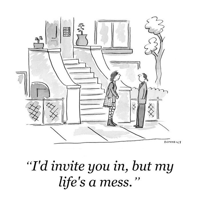142 Of The Funniest New Yorker Cartoons Ever | New yorker cartoons, Funny  blogs, Funny new
