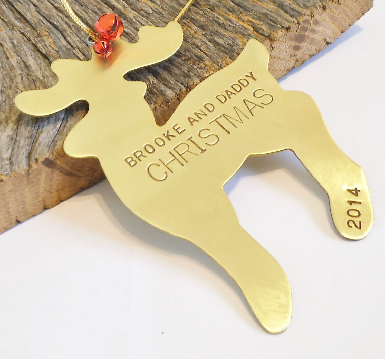 Dad christmas ornament - Christmas Ornament For Parent And Child Reindeer Ornament Personalized Our First Christmas Single Mom Dad Mommy And Me Daddy Gift Only Child