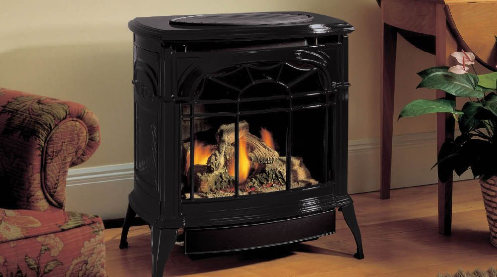 This Keeps Us Nice And Toasty Free Standing Gas Stoves Gas Stove Vent Free Gas Fireplace