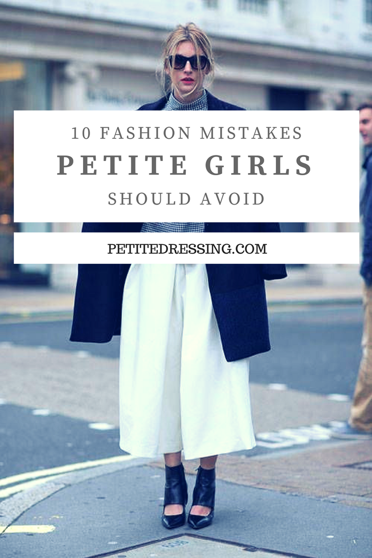 fbe0a8fa535 Petite girls will look taller and thinner if they avoid these fashion  mistakes.Check out www.petitedressing.com for petite clothing from  independent ...