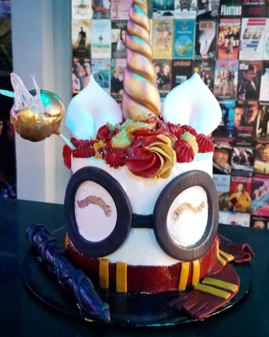 How Do You Make A Unicorn Cake Extra Magical Make It A Harry Potter