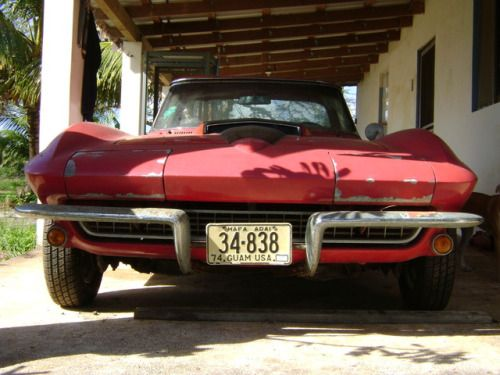 1967 Corvette Barn Find On Guam