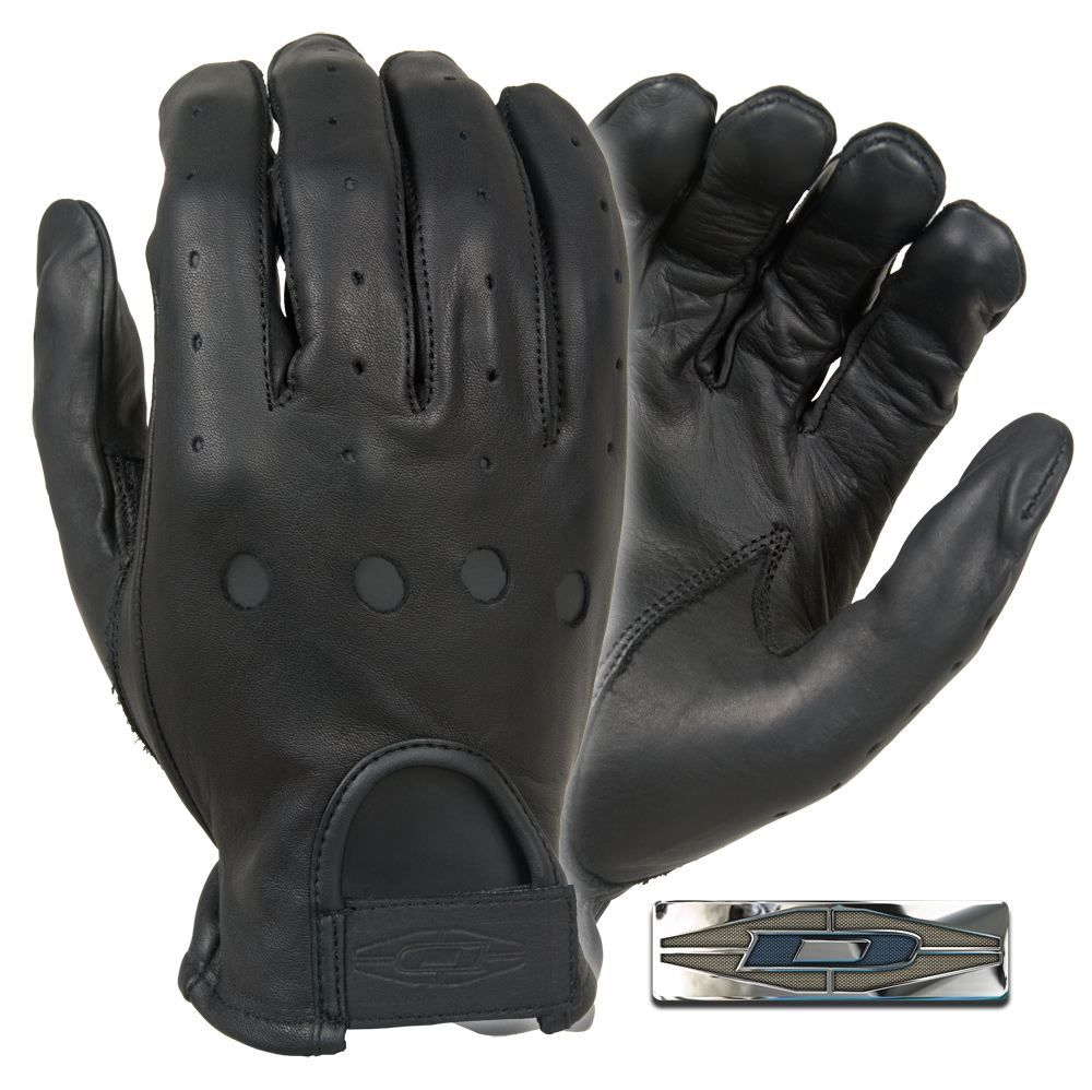 Quality leather driving gloves - D22 Premium Leather Driving Gloves Smooth Premium Quality Aniline Finished Cowhide Open Knuckles