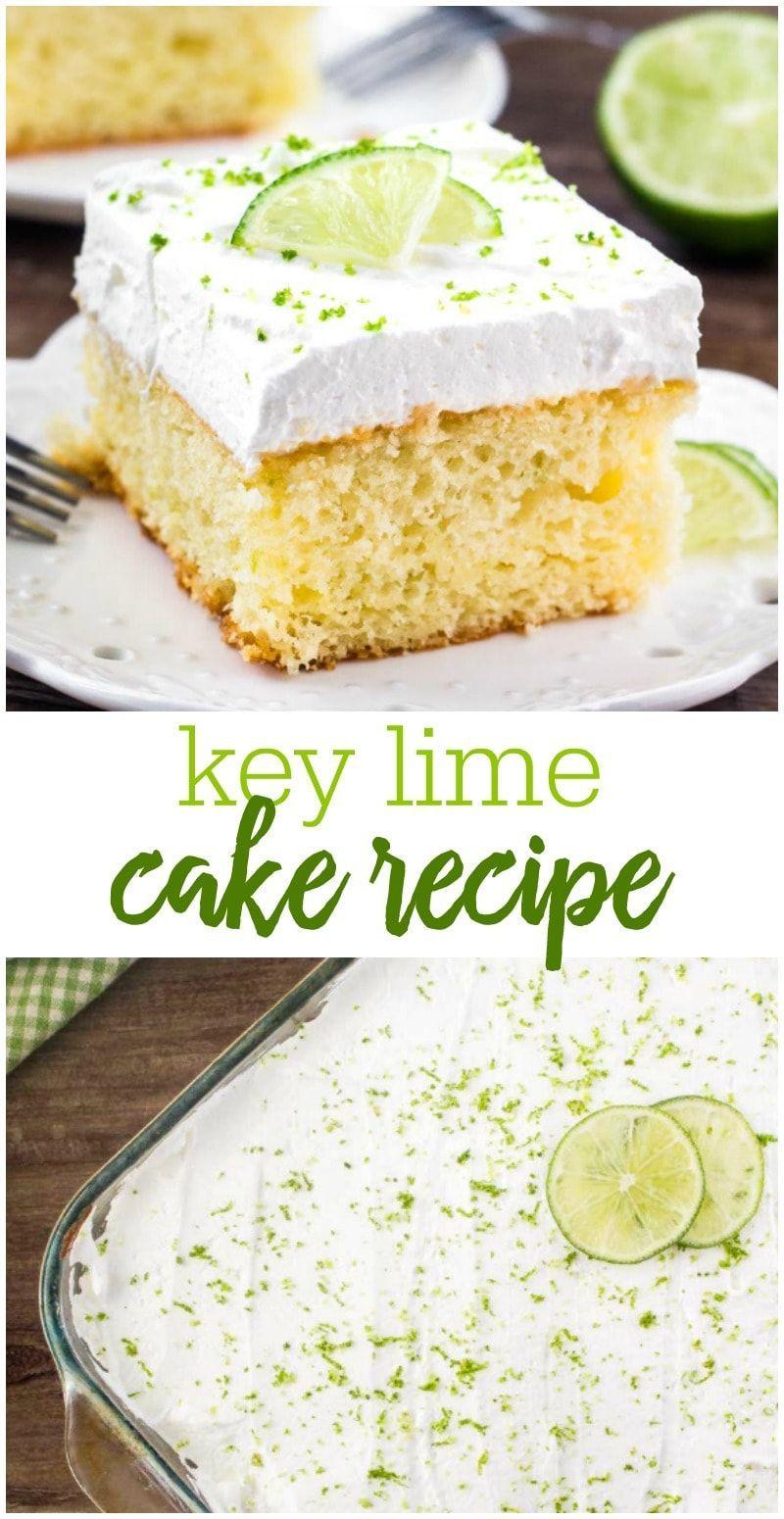 key lime bundt cake with lime jello