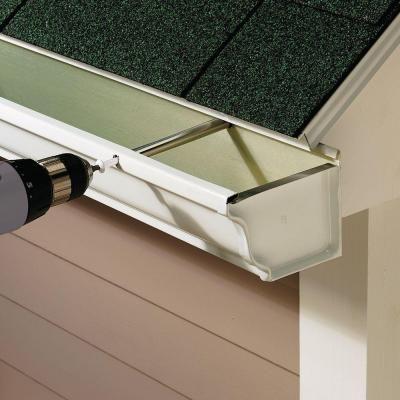 Fastenmaster White Gutter Screws 25 Per Pack Fmgut007 25w The Home Depot Gutters Gutter Home Repair