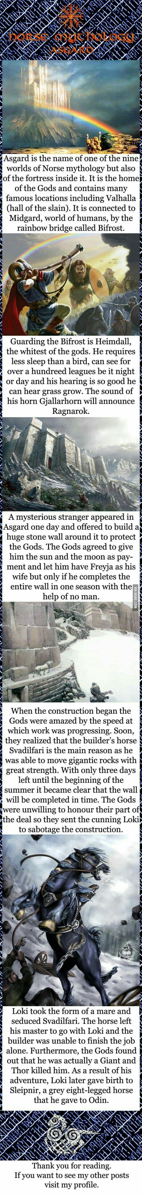 A little about asgard Norse pagan, Norse mythology